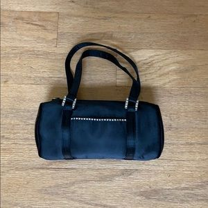 Other - Small Black Satin Purse